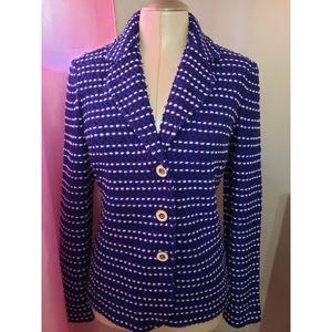 💙St John Knits Heavy Knit Tweed Jacket